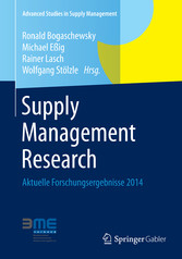 Supply Management Research - Aktuelle Forschungsergebnisse 2014